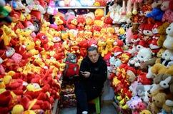 Chinesisches Neujahrsfest in Shanghai Lizenzfreie Stockfotos