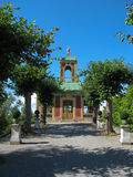 Chinesisches pavillon in Drottningholm Stockbilder