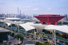 Chinesisches Rot stockfoto