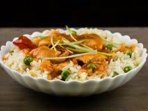 Chinesisches süßes und saures Huhn Stockfotos