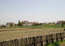 Chinesisches Süddorf und Bauernhaus Lizenzfreie Stockfotografie