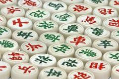 Chinesisches Schach-Set Stockbild