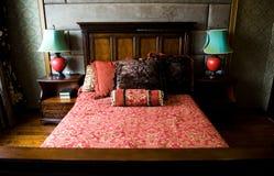 Chinesisches Schlafzimmer stockfoto