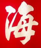 Chinesisches Schriftzeichen Lizenzfreies Stockbild