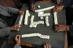 Chinesisches Spiel stockfotografie