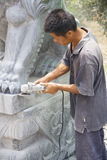 Chinesisches Stein-Gestalten Lizenzfreie Stockfotos