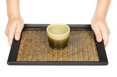 Chinesisches Teecup Stockbild