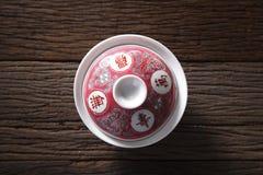 Chinesisches Teecup Lizenzfreie Stockfotografie