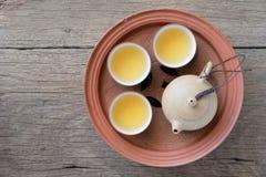 Chinesisches Teeset Lizenzfreies Stockfoto
