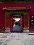 Chinesisches Tor Stockbild