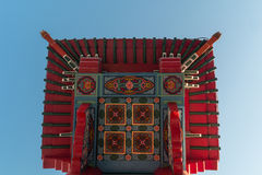 Chinesisches Tor zu Chinatown stockfoto