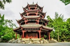 Chinesisches traditionelles Architektur Lizenzfreie Stockfotos