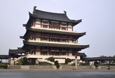 Chinesisches traditionelles Gebäude Lizenzfreies Stockfoto