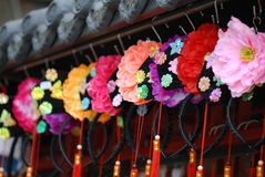 Chinesisches traditionelles headwear Lizenzfreies Stockfoto