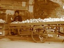 Chinesisches Volk, China-` s Bauern Stockbilder