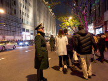 Chinesisches Volk feiert neues Jahr Lizenzfreies Stockbild