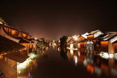 Chinesisches Wasserdorf Stockfotografie