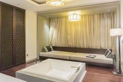 chinesisches Wohnzimmer lizenzfreie stockbilder