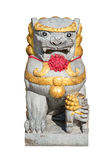 Chiness doll lion decorated in a temple Royalty Free Stock Photography