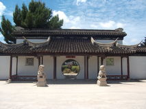 Chinesse庭院 库存照片