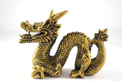 Chinesse dragon. On white background Stock Image
