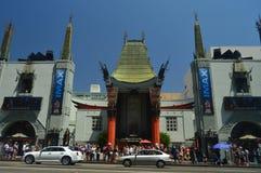 ChinesseTheatre Imax na caminhada da fama em Hollywood Boluvedard fotos de stock