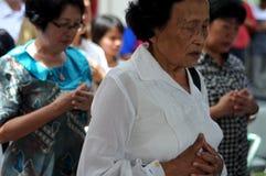 Ching Bing-ritueel royalty-vrije stock afbeelding