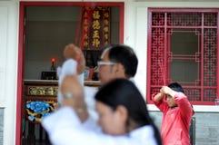 Ching Bing-ritueel stock afbeelding
