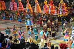 chingay 2011 ståtar singapore Royaltyfri Fotografi