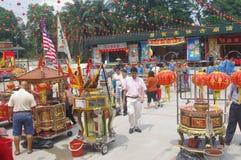 Chingay chinese parade stock photography