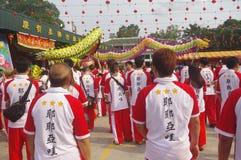Chingay chinese parade royalty free stock photography
