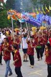 Chingay chinese parade royalty free stock photo