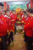 Chingay chinese parade Stock Image