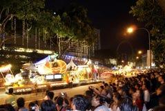 chingay floats singapore Royaltyfri Bild