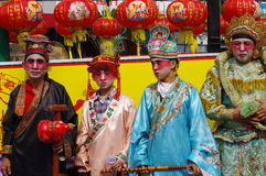 Chingay kines ståtar royaltyfria foton