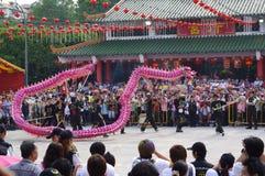Chingay kines ståtar royaltyfri bild