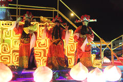 Chingay parade's float Stock Images