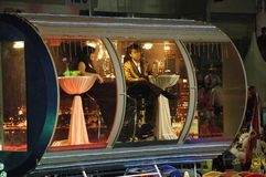 Chingay Parade 2010: Singapore Flyer Float Royalty Free Stock Photos