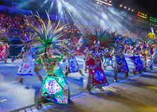 2018 Chingay parade. SINGAPORE - FEB 24 : Participants in the Chingay parade in Singapore on February 24 2018. The Chingay is an annual street parade and it is Royalty Free Stock Image