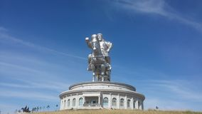 Chinggis khaan pomnik Zdjęcia Stock