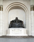 Chinggis Khan Statue Royalty Free Stock Photo