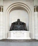 Chinggis Khan Statue Royalty Free Stock Photo