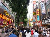 Chinjuku Japan Stockfotos