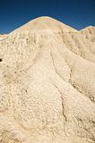 Chink mountain. Desert of Bardenas Reales at navarra in spain Stock Photo