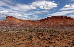 Chinle formacja blisko Paria w Utah fotografia royalty free