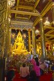 Chinnarat di phuttha di Phra Immagine Stock