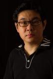 Chino asiático Guy Portrait Fotografía de archivo libre de regalías