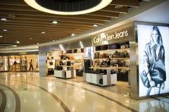 Chino asiático, Pekín, ¼ ŒInterior, la disposición de Joy City Shopping Plazaï de la tienda, Fotos de archivo libres de regalías