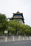 Chino asiático, Pekín, arquitectura antigua, Zhengyang Jianlou Fotos de archivo libres de regalías