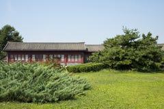 Chino asiático, Pekín, cuadrado del puente de Lugou, el edificio antiguo Fotografía de archivo libre de regalías